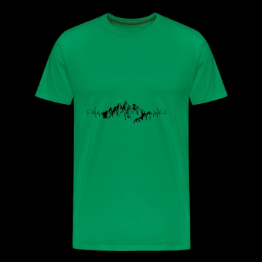 HEARTH Mountain hiking - Men's Premium T-Shirt