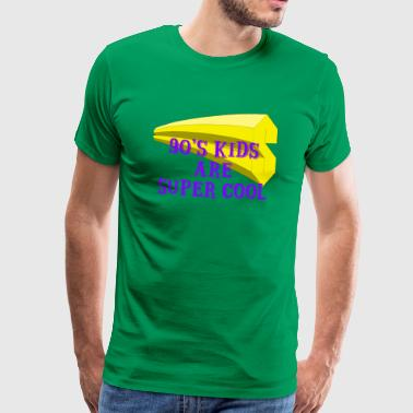 90 s Kids are super cool - Männer Premium T-Shirt