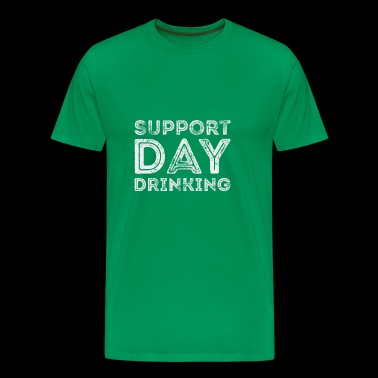 Support dag drikker St. Patricks Day T skjorte - Premium T-skjorte for menn