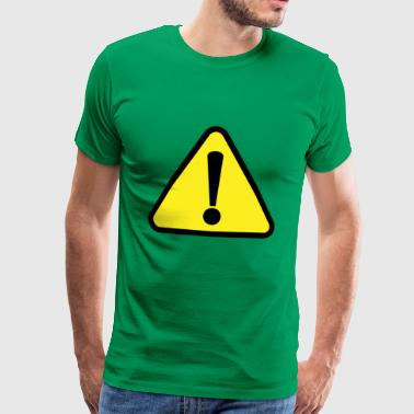 Attention danger - Men's Premium T-Shirt