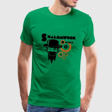 Shalom för Clockwork Orange - Premium-T-shirt herr