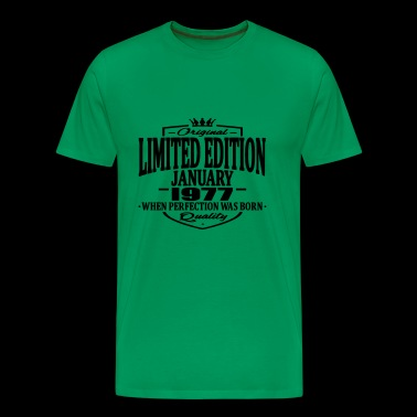 Limited edition january 1977 - Men's Premium T-Shirt