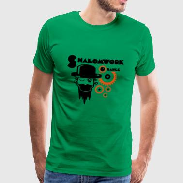 Shalom for Clockwork Orange - Men's Premium T-Shirt