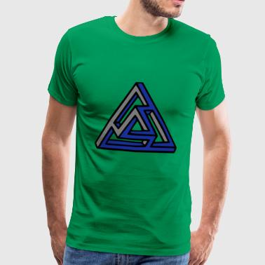 triangle of the impossible - Men's Premium T-Shirt