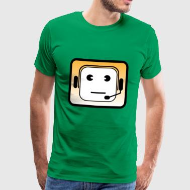 Headset | Callcenter | Phone | Mobile phone acquisition - Men's Premium T-Shirt