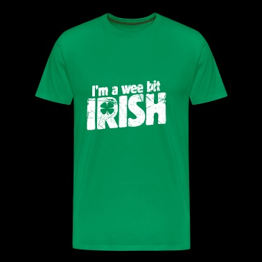 i'm a wee bit irish - Men's Premium T-Shirt