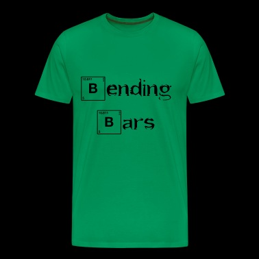 Bending Bars - Gym Shirt - Men's Premium T-Shirt