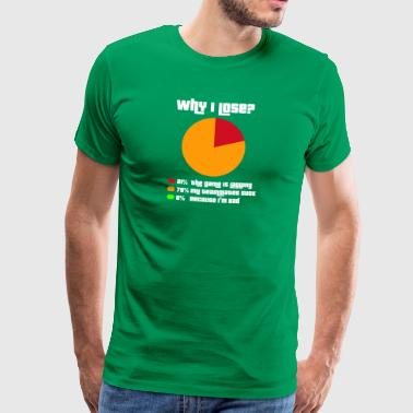 Why I lose? - Männer Premium T-Shirt