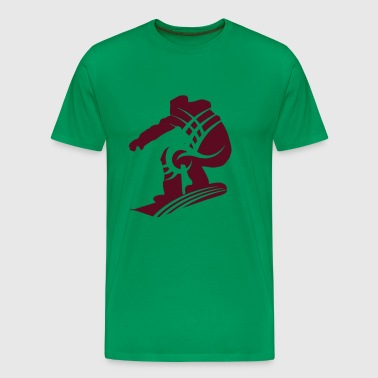 Snowboarding UK eu - Men's Premium T-Shirt