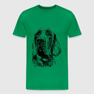 Great Dane black2 - Men's Premium T-Shirt