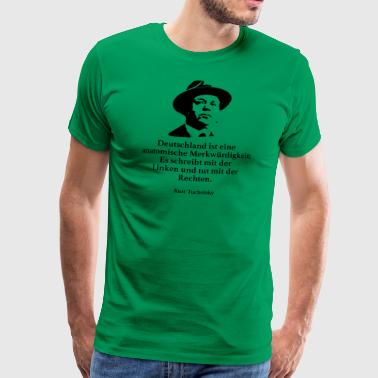 Tucholsky: Germany is an anatomical marker - Men's Premium T-Shirt