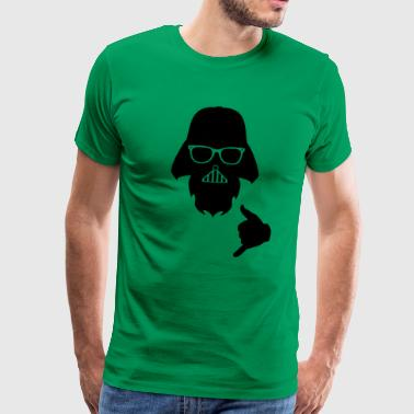 FUNNY DARTH VADER DESIGN GIFT JOYFUL FATHER - Men's Premium T-Shirt