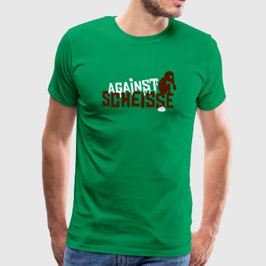 against scheisse - sniffy baby - Männer Premium T-Shirt