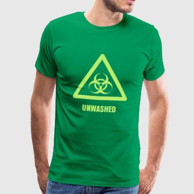 Hazard Symbol - Biohazard - Men's Premium T-Shirt