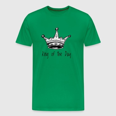 King of the Day - Herre premium T-shirt