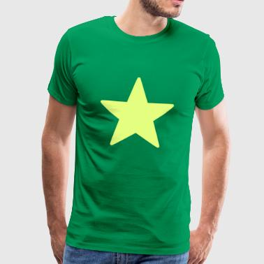 Star / Star / Yellow / Bright / Sun. - Men's Premium T-Shirt