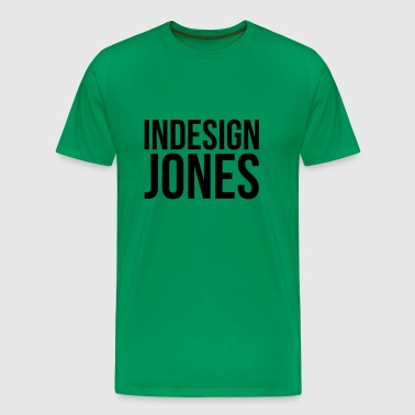 indesign Jones - Männer Premium T-Shirt
