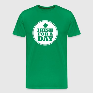 IRISH FOR A DAY - FUN - Männer Premium T-Shirt