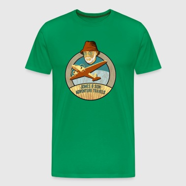 Jones Adventure Travels, Colour - Männer Premium T-Shirt