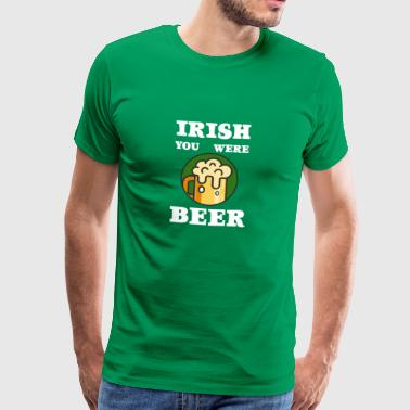 St. Patricks Day - Herre premium T-shirt
