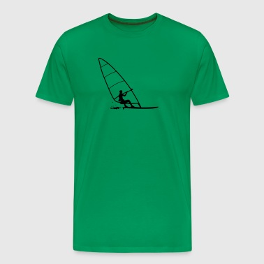 windsurfing - Premium T-skjorte for menn