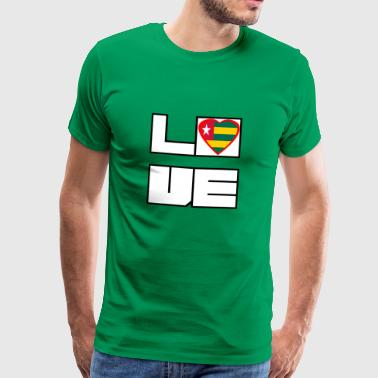 Love Land Roots Togo - Männer Premium T-Shirt
