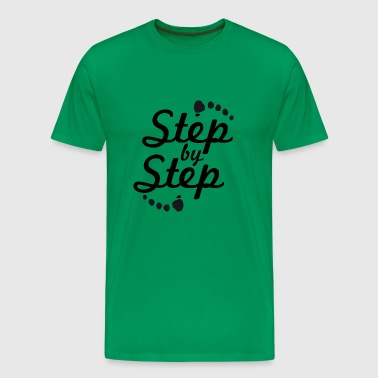 step by step 2 - Men's Premium T-Shirt