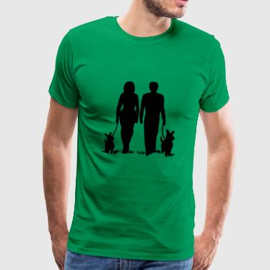 Happy couple - Men's Premium T-Shirt