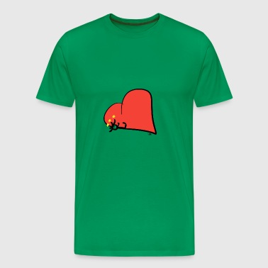 Cherish in the heart - Men's Premium T-Shirt