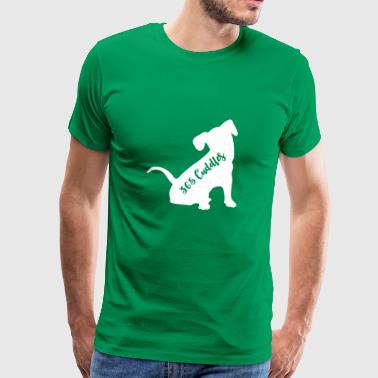 Cuddle a dog at least 365 times in 2018.Christmas - Men's Premium T-Shirt