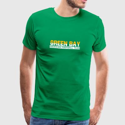 Grön Bay Football - Premium-T-shirt herr