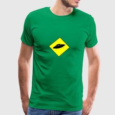 UFO Warning - Männer Premium T-Shirt