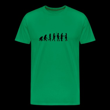 Evolution to the salvation T-shirt gift - Men's Premium T-Shirt