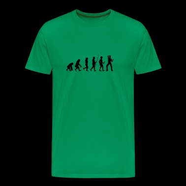 Evolution danseren t-skjorte gave Music - Premium T-skjorte for menn