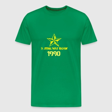a star was born in 1990 - Men's Premium T-Shirt