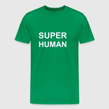Superhuman - Premium T-skjorte for menn
