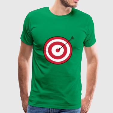archery arrow bow crossbow target sports58 - Men's Premium T-Shirt