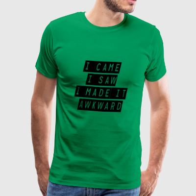 i came i saw - Men's Premium T-Shirt