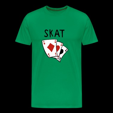Skat card game - Skat games - Skat player - Men's Premium T-Shirt