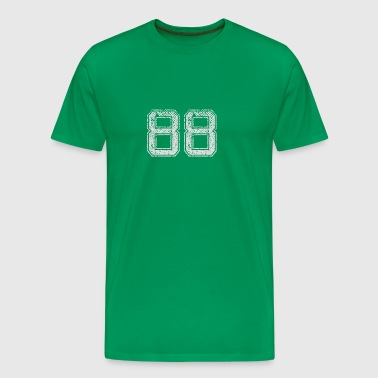 Number 88 Number Eighty-Eight Eight Eight Gift - Men's Premium T-Shirt