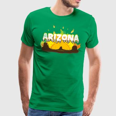 Arizona Kernsmelting - Mannen Premium T-shirt
