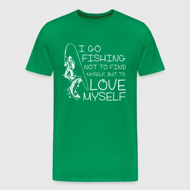 I go fishing - Men's Premium T-Shirt