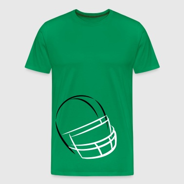 football helmet flashes - Männer Premium T-Shirt