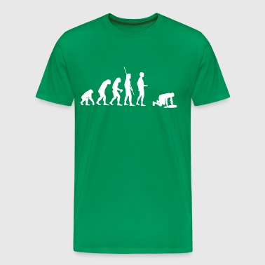 Evolution puke  - Men's Premium T-Shirt