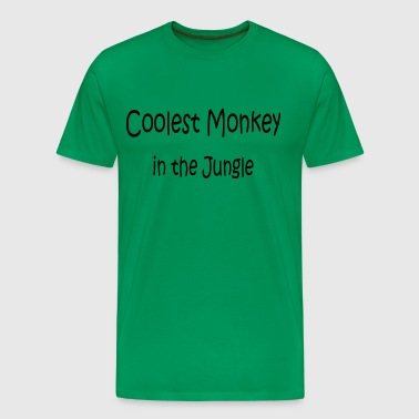 Limited - Coolest Monkey in the Jungle - Mannen Premium T-shirt