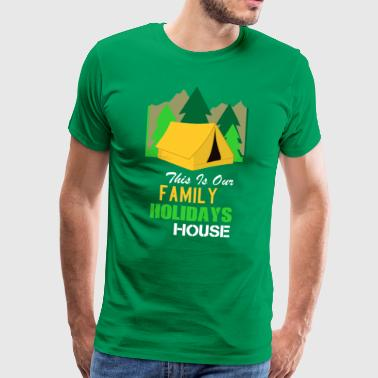 Camping Holiday with Family T-Shirt - Men's Premium T-Shirt