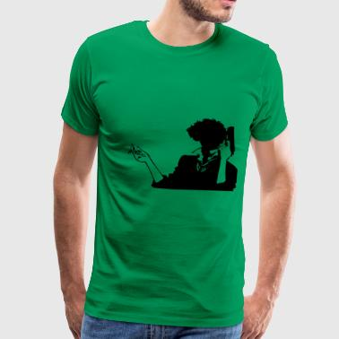 Cowboy bebop spike HQ simple - T-shirt Premium Homme