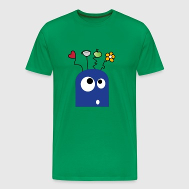 Goofy Monster - Men's Premium T-Shirt