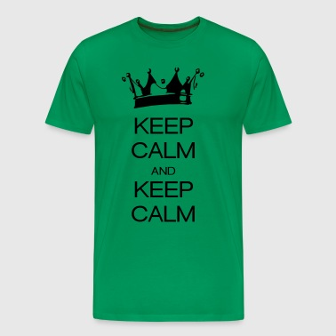 keep calm and keep calm - Männer Premium T-Shirt