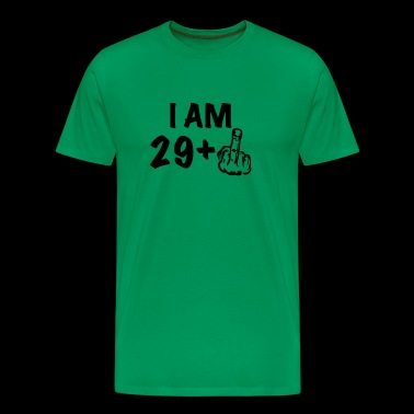 i am 29+ a funny gift for the 30th birthday - Men's Premium T-Shirt